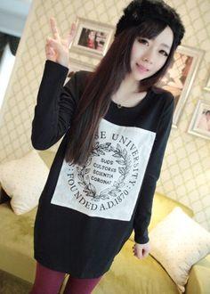 TC000814 Pocket bottoming shirt Korean style T-shirt for women