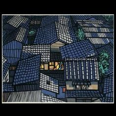 Clifton Karhu, 1927-2007, American who immigrated to Japan in 1963 and became a wood block print maker