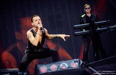 Dave Gahan & Andy Fletcher of depeche Mode