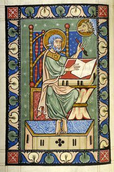 Evangelist Mark   Gospel Book   Austria, probably in the monastery of Seitenstetten   between 1225 and 1275   The Morgan Library & Museum
