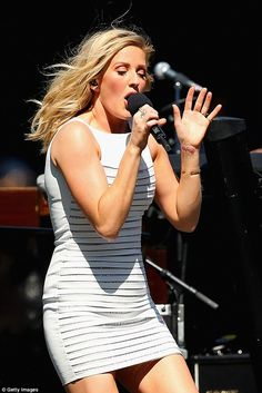 Health condition: Ellie Goulding has revealed that she's been putting her health at risk, by ignoring a heart defect which has now forced her to cut down on her exercise regime