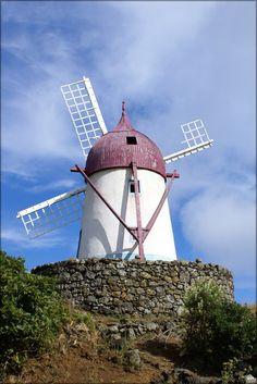 16x24 Poster; Manuel Gaspar, Windmill, Santa Cruz Da Graciosa, Azores, Portugal | eBay