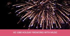 Holiday Fireworks With Music Christmas Toys, Hd 1080p, Fireworks, Stock Footage, Holidays, Music, Musica, Holidays Events, Musik