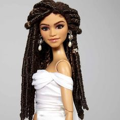 Zendaya Barbie Doll by Carlyle Nuera. The actress and singer got her start on the Disney Channel.