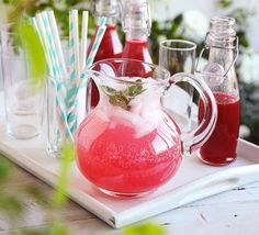 Preserve the flavours of a batch of raspberries in this refreshing concentrated drink - delicious with soda on ice