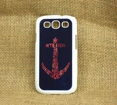 Samsung Galaxy S3 case --Anchor,plastic case side in black or white. $15.99, via Etsy.