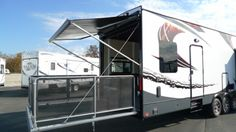 14 FT Toy Hauler | ... 35X14HP 2014 Fifth Wheel Toy Hauler (35 X14): National RV Online