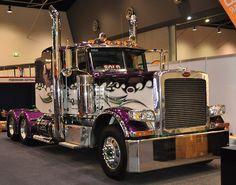 Peterbilt custom 389 #truck
