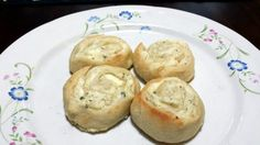 "Creamy Ranch Stuffed Pinwheels! ""Super yummy! Great with any pasta!""  @allthecooks #recipe #appetizer #bread"