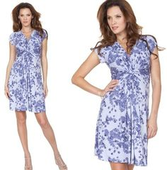 Seraphine's Knot Front Dress in Lavender, worn by Kate July 24, 2013