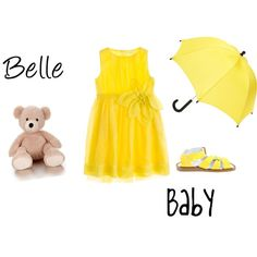 Belle baby outfit