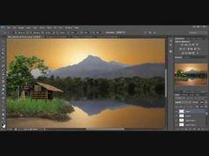 Processing simple photos into art photos