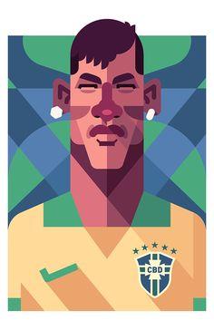 Neymar /  Brazil by Daniel Nyari