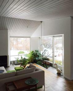 In- floor planter? Scandinavian interior design