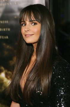 Jordana Brewster... Have always loved her hair! And her too! :)