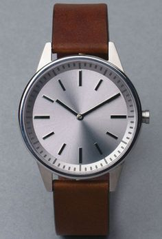 Here's a small company known for making watches that are so dead simple, they'll look right in any environment. Especially with a face like that. 250 series ($482) by Uniform Wares, uniformwares.com   - Esquire.com