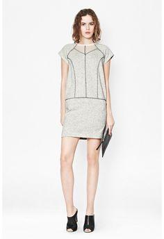Speckled Sweat Dress