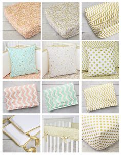 Caden Lane's Blog post -- decorating A Gold Nursery: Gold Crib Bedding ‹ Caden LaneCaden Lane