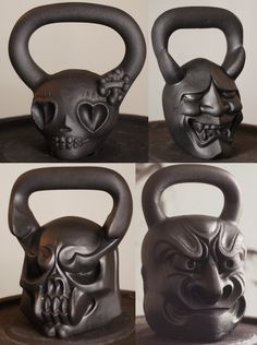 DemonBells for the hardcore kettlebell workout or for someone who has money to burn Kettlebell Workouts For Women, Kettlebell Training, Gym Workouts, At Home Workouts, Crossfit Garage Gym, Crossfit Cake, Home Boxing Workout, Gymaholic, Runners World