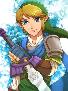 Hyrule Warriors Link, by @riiko1210s
