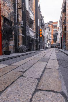 老字号 新面貌:广州万科恩宁路永庆坊 / Lab D+H Chinese Design, Sidewalk, Landscape, Scenery, Side Walkway, Walkway, Corner Landscaping, Walkways, Pavement