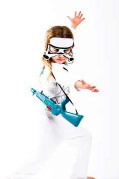 Storm trooper Costume Star Wars Toddlers costumes 3PC kids costume Ready to ship Halloween costumes for kids.