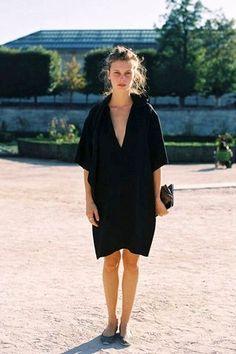Le-Fashion-Blog-Paris-Fashion-Week-Street-Style-Marine-Vacth-Effortless-Black-Dress-Via-Vanessa-Jackman.jpg photo by lefashion