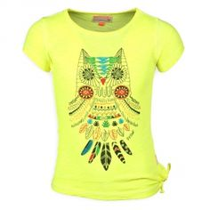 Retour Meiden T-shirt Korte Mouwen Lavinia Neon Yellow