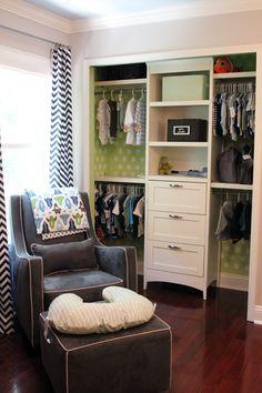 Como dar color a un armario empotrado