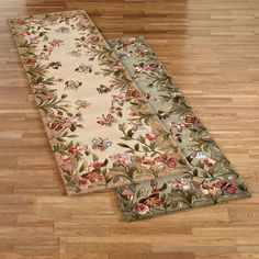 Kas Colonial Floral 3 6 X 5 6 Area Rug Products Floral Rug