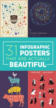 31 Beautiful Posters That Will Teach You A Damn Thing