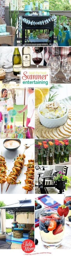 From backyard barbecues and pool parties to bonfires and birthdays, make summer entertaining a bash to remember with these recipes and ideas.