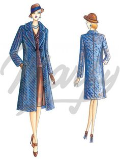 The Marfy hand made pre-cut sewing pattern :: Marfy Collection 2015/2016 :: Sewing Pattern 3752 -
