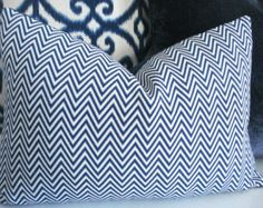 Blue Pillows by Maria on Etsy