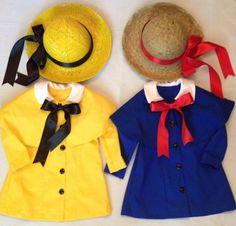 Toddler Madeline costume AGHcustomcostumes etsy