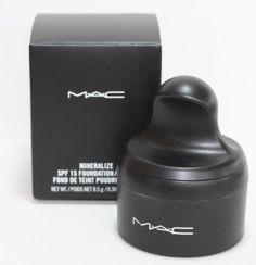 MAC Mineralize SPF 15 Foundation/ Loose Fond De Teint Poudre FPS 15 8.5g/ 0.30 US OZ: Amazon.co.uk: Beauty