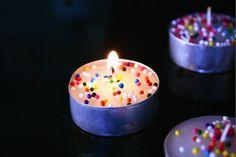 alimentaire et la féminité: gâteau d'anniversaire de la Bougies-parfait DIY verser célébration juin de Quickie!