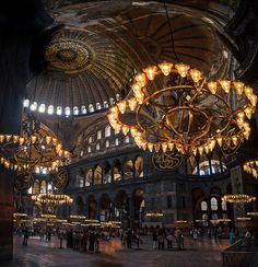 whitenoten: Hagia Sophia , Istanbul – by: { David Hurley} (Daily Visual Overdose) – happybox – Join the world of pin Islamic Architecture, Amazing Architecture, Art And Architecture, Hagia Sophia Istanbul, Sainte Sophie, Pamukkale, Islamic Art, Oh The Places You'll Go, Belle Photo
