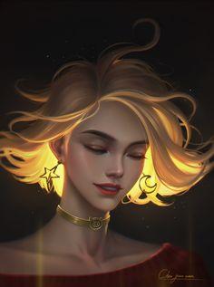 Arte Digital Fantasy, Fantasy Kunst, Digital Art Girl, Digital Portrait, Dark Fantasy Art, Foto Fantasy, Fantasy Girl, Fantasy Character Design, Character Art