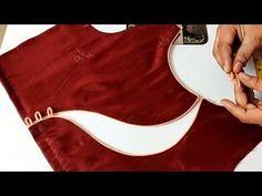 blouse designs latest Beautiful Blouse Design Cutting and Stitching Lehenga Designs, Kurta Designs, New Saree Blouse Designs, Blouse Designs High Neck, Blouse Designs Catalogue, Simple Blouse Designs, Neck Designs For Suits, Stylish Blouse Design, Bridal Blouse Designs