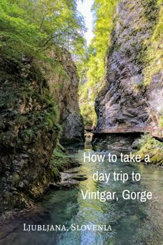 Ljubljana Day Trip to Vintgar Gorge ~ - One Road at a Time