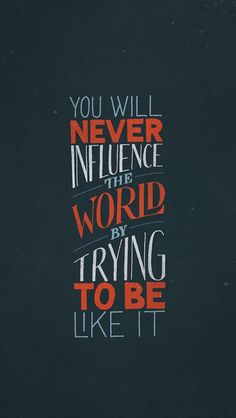 Influence.