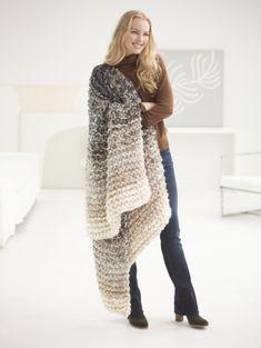 8 Hour Throw - Free Knitting Pattern
