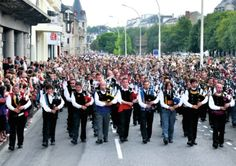 Festival de Cornouaille in Brittany - July 2014