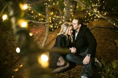Jennie and Kris's December Engagement Shoot at Grounds for Sculpture