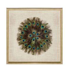Riverdale schilderij Feathers (70x70 cm) | wehkamp