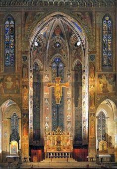 Basilica Santa Croce, Florence ♒ www.pinterest.com/WhoLoves/Beautiful-Buildings ♒  #Architecture