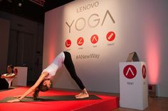 The YOGA 3 Pro laptop is as flexible as you.