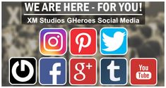 """We changed the names from our channels between """"Europe"""" renamed to """"GHeroes"""". For example Twitter was """"XM Studios Europe"""" and is now """"XM Studios GHeroes"""". We updated all channels and our shop with the new links. Channels are Facebook shortcut changed to @xmstudiosgheroes, Twitter to XM Studios GHeroes (@XMStudiosGH), tumblr to XM Studios GHeroes (xmstudiosgh), google+ / YOuTube to XM Studios GHeroes, Instagram to xm_studios_gheroes and Pinterest to XM Studios GHeroes (xmstudiosgheroes)."""