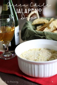 Green Chile Jalapeno Dip - 50 Football Party Recipes at Chef in Training! Holiday Appetizers, Appetizer Dips, Appetizer Recipes, Football Party Foods, Football Food, Football Parties, Best Mexican Recipes, Favorite Recipes, Dip Recipes
